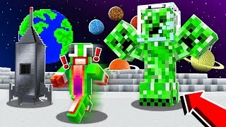 *NEW* MINECRAFT SPACE PLANET INFECTED WITH ALIENS...