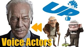 """UP"" (2009) Voice Actors and Characters"