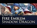 "Part 1: Let's Play Fire Emblem Shadow Dragon, Classic Merciless, Chapter 1 - ""Mekkah Activated"""