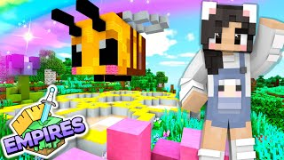 💙The BEE BASE! Empires SMP Ep.9 [Minecraft 1.17 Let's Play]