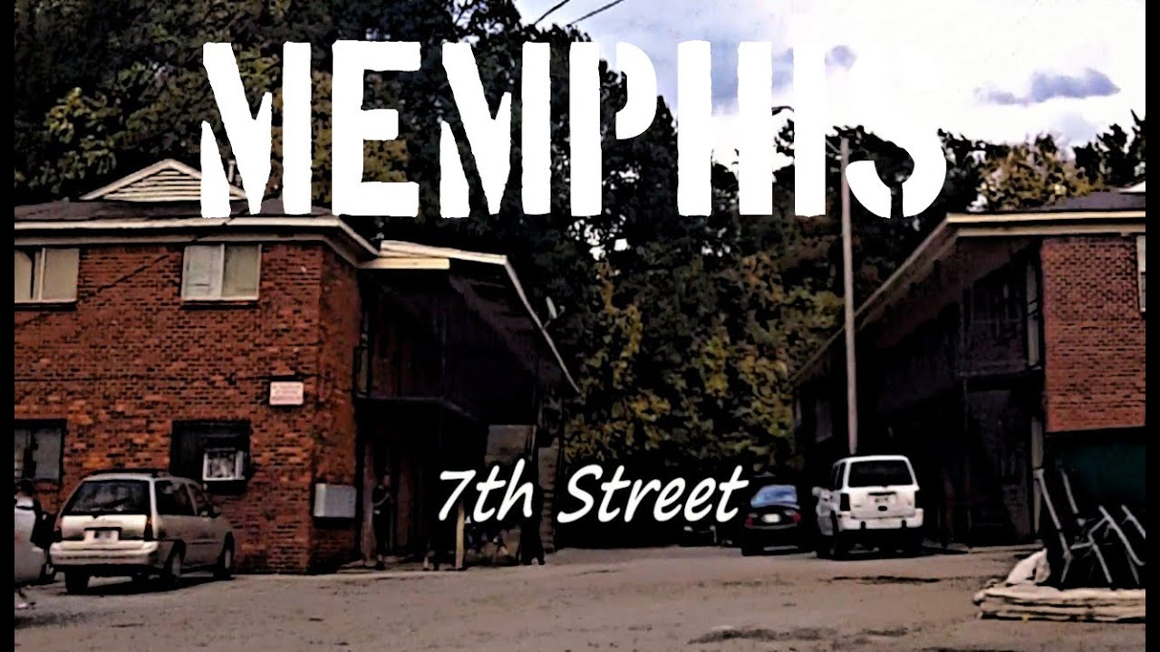 Map of the Memphis Gangs Areas and the Memphis Hoods