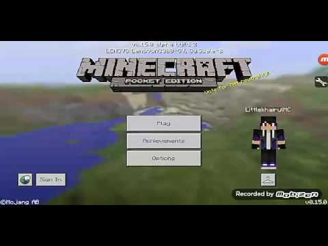 "Play Minecraft Pocket Edition Ep 6 ( Malay ) "" mining diamonds and obsidians """