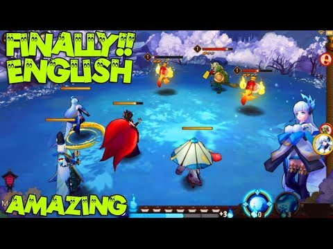 Finally ENGLISH!! | ONMYOJI Android / IOS RPG Gameplay ( Best turn based  2018 NETEASE )
