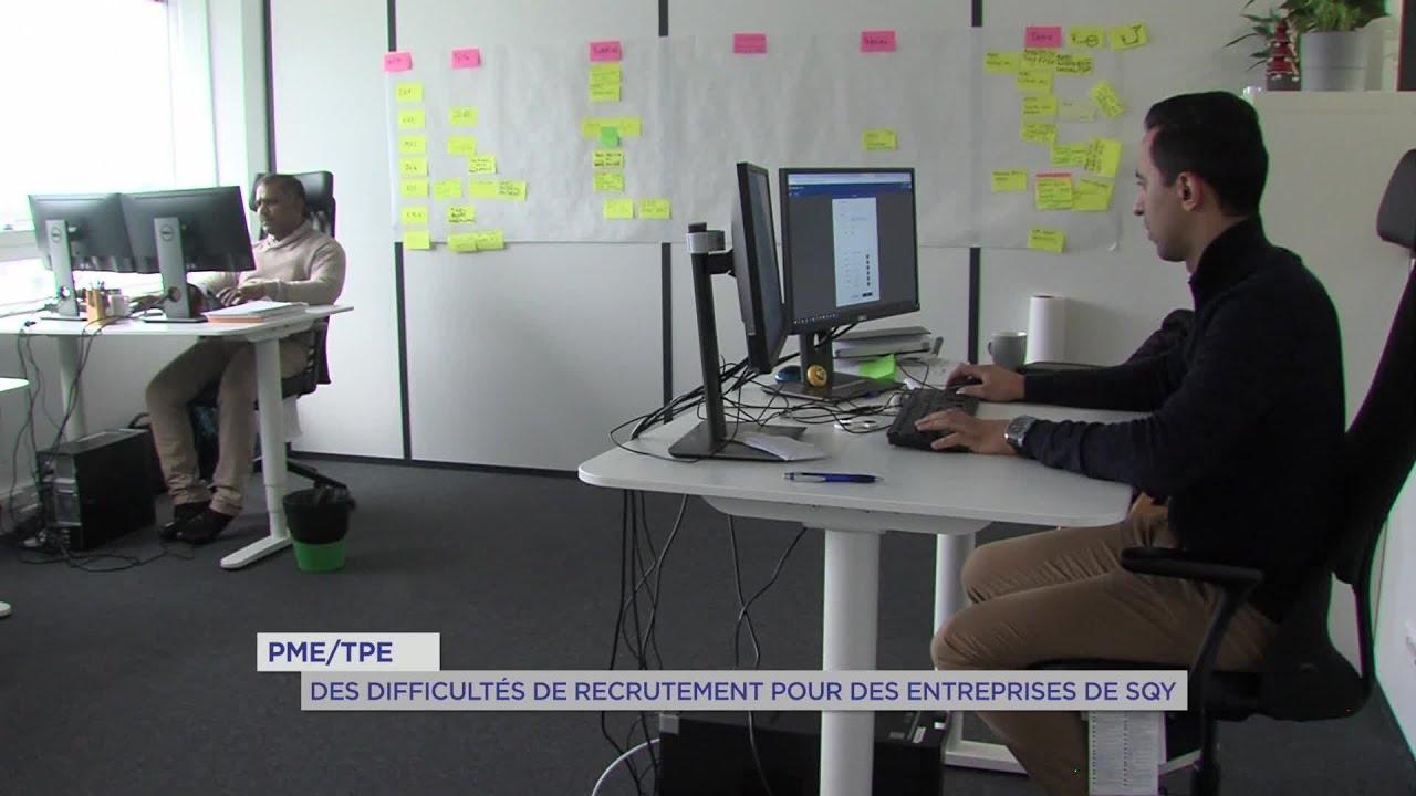 Yvelines | PME/TPE : Des difficultés de recrutement pour des entreprises de SQY