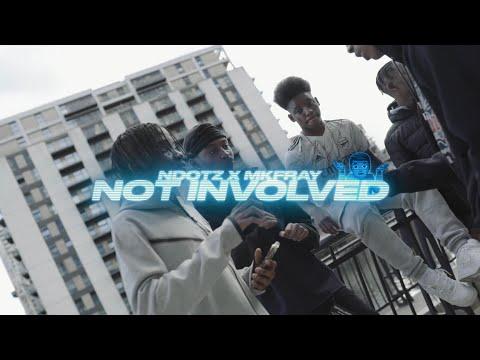 NDOTZ X MKFRAY - Not Involved (Official Music Video) | @RealNdotz @Mkfray