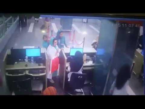 Airport incident fram pakistan
