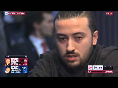 Huge Bluff Fail in Battle for €562,000 and the EPT Dublin Crown! | PokerStars