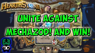 Hearthstone: Unite Against MechaZod and win!