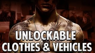 Sleeping Dogs - All Unlockable Clothes & Vehicles