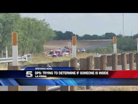 Authorities Respond to Vehicle in Canal near La Feria