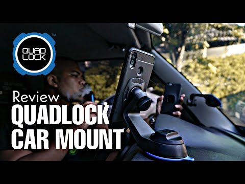 Is This The Best Car Mount? Quadlock Review (Philippines)