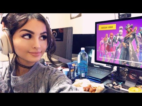 FORTNITE AND CHILL LIVESTREAM SSSNIPERWOLF LIVE