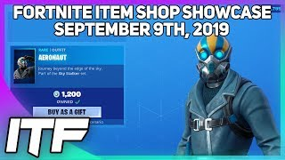 Fortnite Item Shop *NEW* AERONAUT SKIN SET! [September 9th, 2019] (Fortnite Battle Royale)