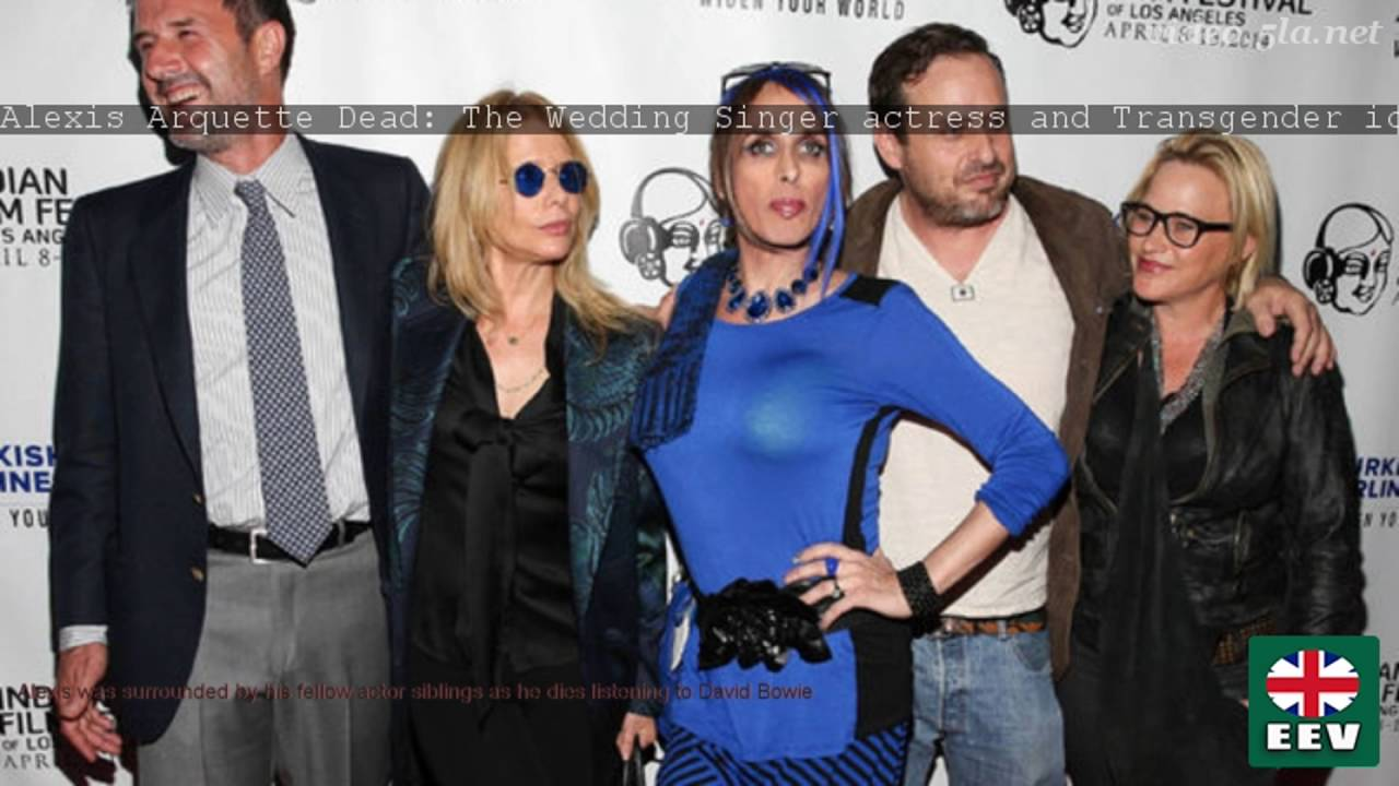 Alexis Arquette Dead The Wedding Singer Actress And Icon S Aged 47