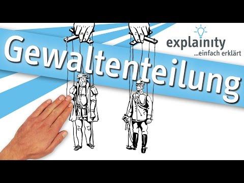 Gewaltenteilung einfach erklärt (explainity® Erklärvideo)