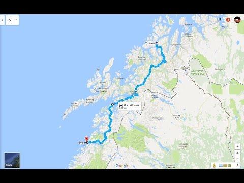 Norway road trip 2016 Day 8 Tromso-Bodo
