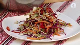 Готовим вместе: салат из двух видов капусты / Доброе утро, Приднестровье!