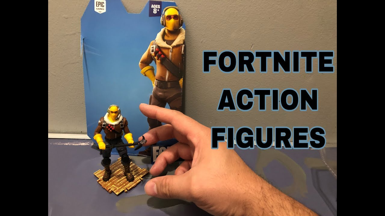 Unboxing New Fortnite Action Figure Raptor Youtube