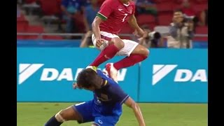 #7  Ahmad Nufiandani Fairplayer No Yellow No Red Card & 22 Touches Thailand before Chanathip's goal