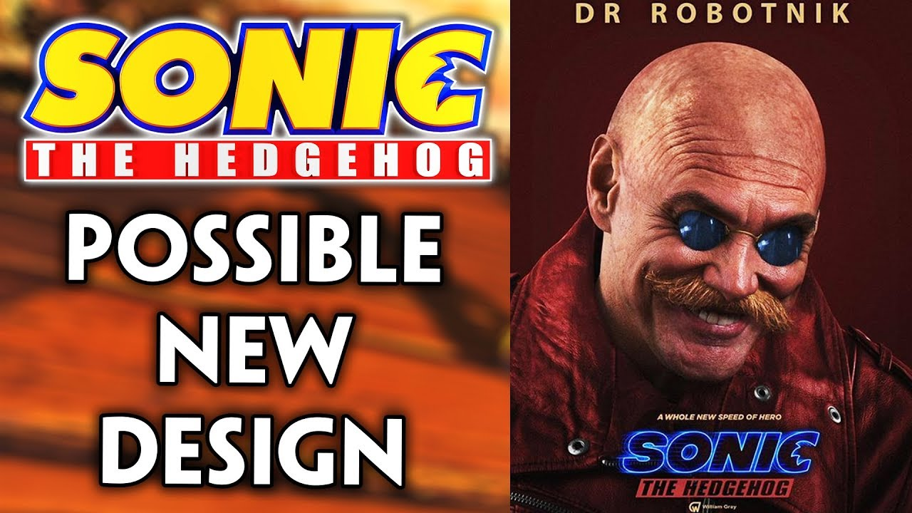 Sonic 2019 Movie Dr Eggman S Potential New Design Speculation Youtube