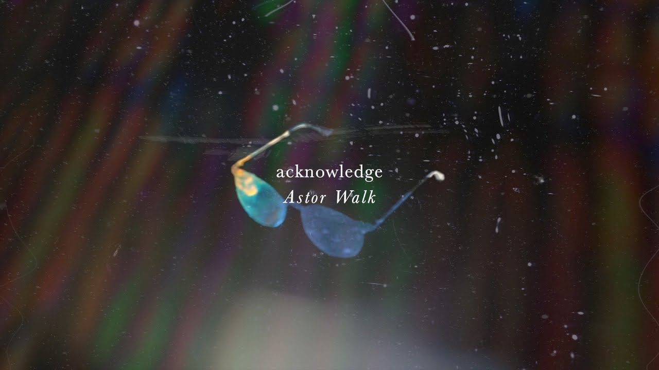 Download Astor Walk - acknowledge (Lyric Video)