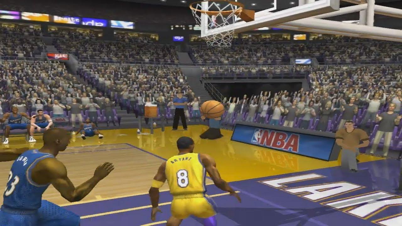 NBA Live 2003 - 2002 - Washington Wizards VS Los Angeles ...