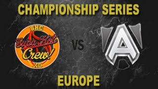 SHC vs ALL - 2014 EU LCS Summer W3D2