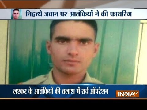 Jammu and Kashmir: BSF constable on leave shot dead by terrorists in his home in Bandipora