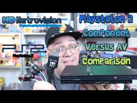 Sony Playstation 2 HD Retrovision Component Versus Composite Comparison!