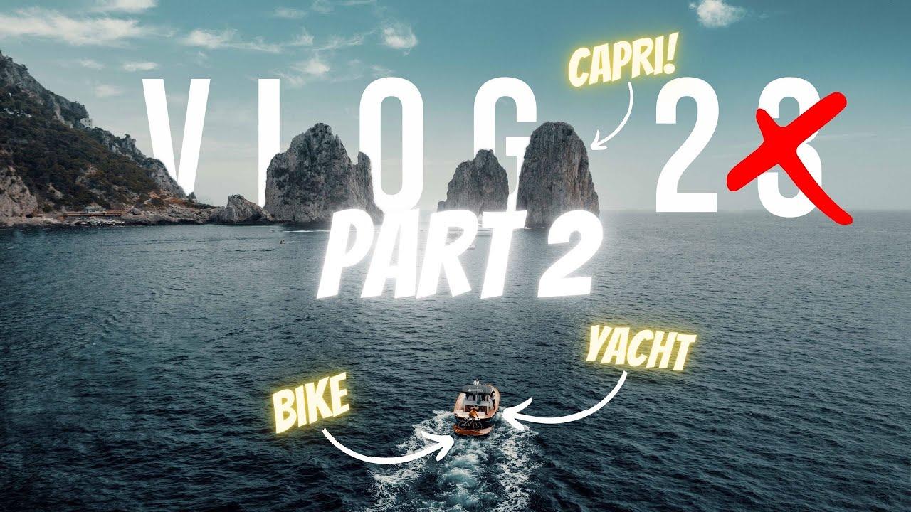 A CAPRI IN MTB A CACCIA DI KOM!! 🤯 (PARTE 2)  | VLOG 24