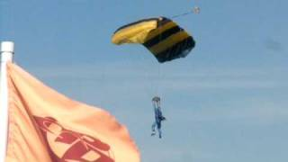 Skydive AFF Landing