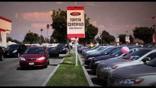 Longo Toyota Pre Owned Vehicle Department