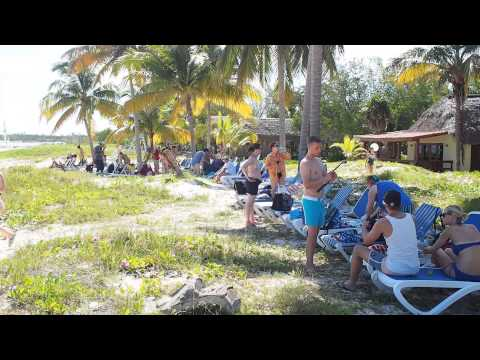 Tourism in Cayo Levisa, just arriving  CUBA THE PARADISE