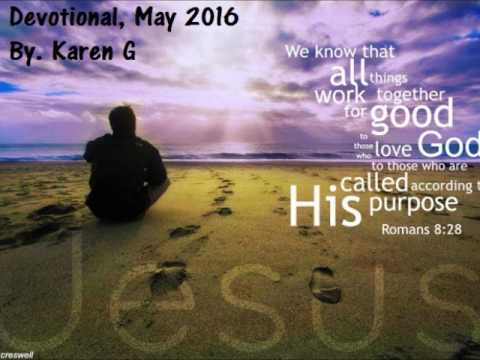 Daily Devotional May 13 2016, New Jerusalem Foundations
