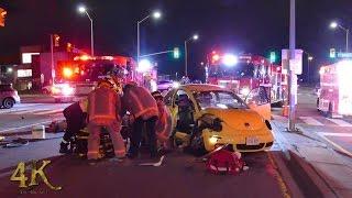 Mississauga: T-bone collision leaves VW Beetle occupant injured 3-2-2017