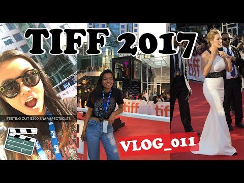 Snapchat Spectacles next to the Red Carpet! (tiff 2017)