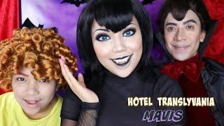 Hotel Transylvania Mavis Makeup Tutorial