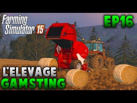 Farming Simulator 15 | L'Élevage Gamsting | Episode 16 | La Presse LeLy ! (RôlePlay)