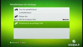 Convertir votre clé USB en carte mémoire Xbox360.
