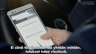 Nokian Renkaat ja Vianor: SnapSkan mittaa renkaiden urasyvyyden