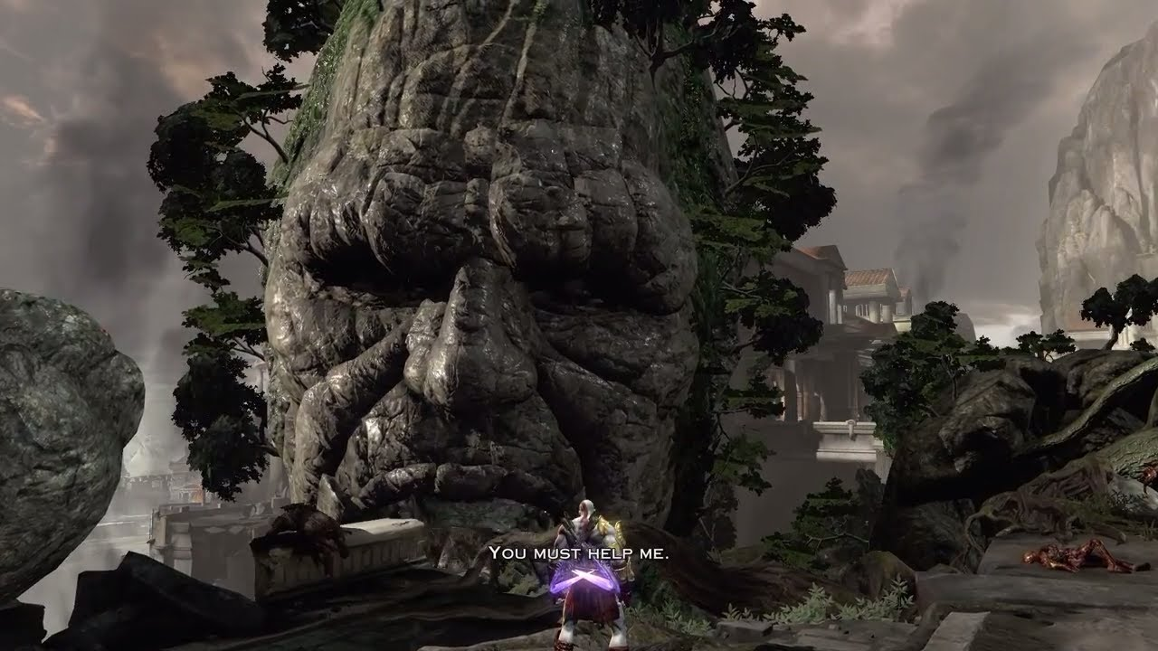 God of War 3 PS4 - Kratos vs Titan Gaia - YouTube