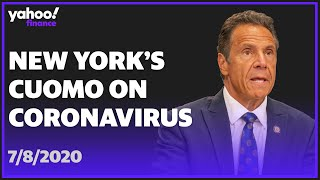 WATCH: New York Governor Andrew Cuomo holds press briefing and makes announcement on coronavirus