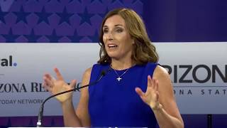 McSally and Sinema debate for U.S. Senate seat in Arizona: the economy