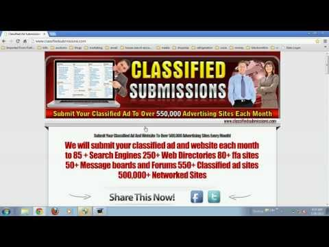 Post to Thousands of Classifieds Using a Classified AD Submission service