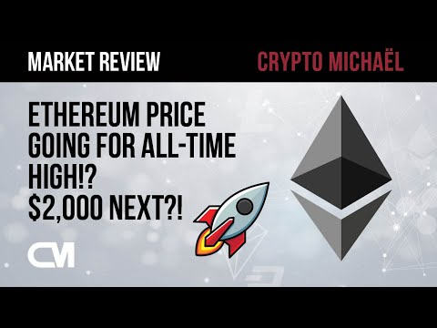 🚀 ETHEREUM Price Going For ALL-TIME High: $2,000 Next?! 🚀