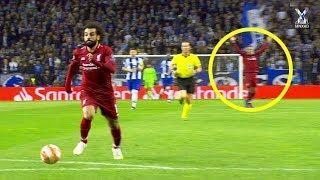 عندما يحتفل اللاعبون قبل تسجيل الأهداف .....!! محمد صلاح ●  كريستيانو 😱💔🔥