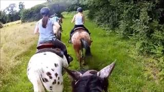 Balade à cheval (Western), de pures sensations!!! (1080 HD)