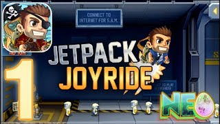 Jetpack Joyride: Gameplay Walkthrough Part 1 - Barry Is Ready! (iOS, Android)