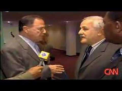 Argument Between Israeli And Palestinian Ambassadors