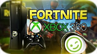 I got fortnite on Xbox 360! (reveal now in description)